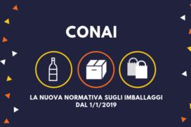 CONAI 2019: la nuova normativa per il contributo ambientale