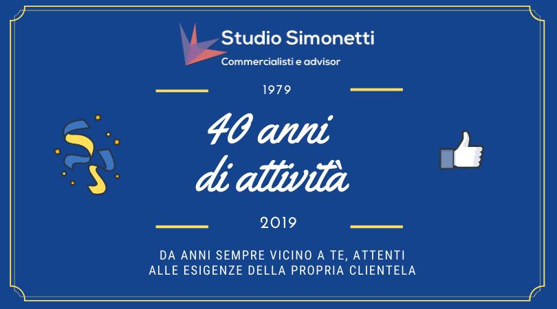 I 40 anni di attività del nostro studio a Poppi, in Provincia di Arezzo