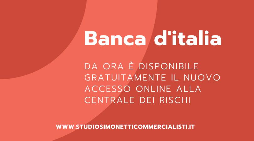 L'accesso a Banca d'italia tramite SPID o carta nazionale dei servizi