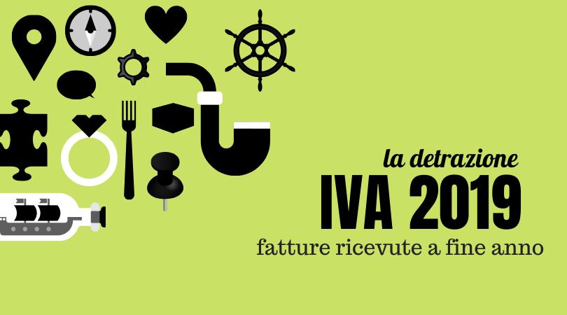 Il diritto alla detrazione IVA: le fatture elettroniche ricevute a fine anno