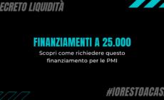 Finanziamento a 25.000 euro per le piccole e medie imprese