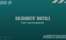 Tutti i servizi presenti all'interno del portale solidarietà digitale