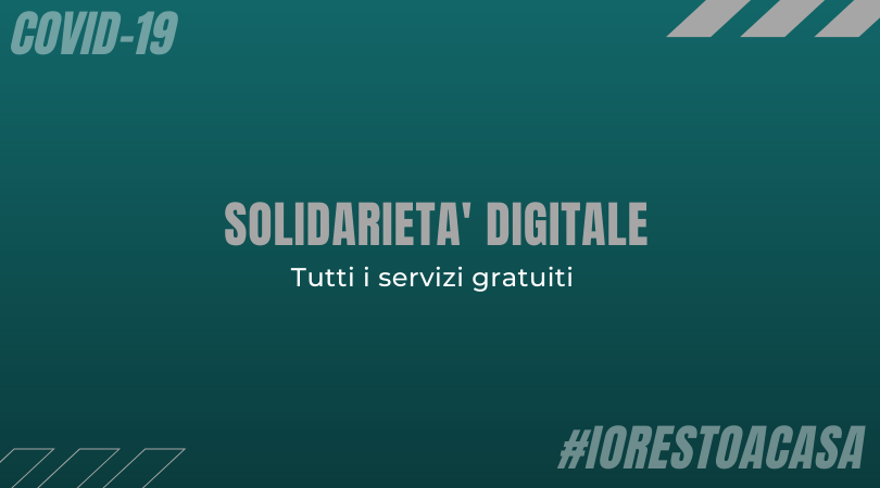 Consulta l'articolo e scopri i vantaggi della piattaforma solidarietà digitale