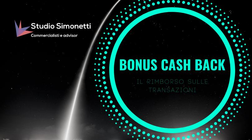 Il rimborso delle transazioni con il bonus cash back