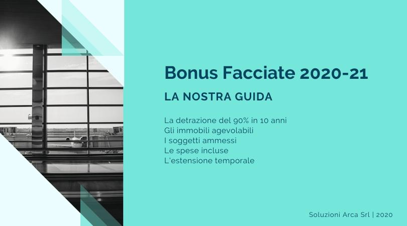 Le condizioni di accesso al bonus facciate 2020-2021